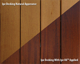 Ipe Oil Finish Ipe Oil Stains Finish And Sealer